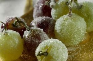 acini uva caramellati
